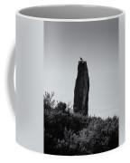 Bird On A Standing Stone Coffee Mug