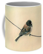 Bird On A Wire Coffee Mug