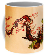 Bird On Branch Coffee Mug