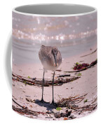 Bird On The Beach Coffee Mug