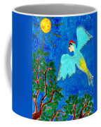 Bird People Green Woodpecker Coffee Mug