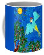 Bird People Green Woodpecker Coffee Mug