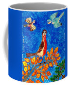 Bird People Robin Coffee Mug by Sushila Burgess