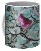 Bird Submerged In Leaves Coffee Mug