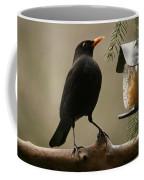 Bird Table Coffee Mug