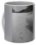Bird Tracks In The Snow Coffee Mug