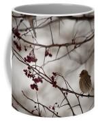 Bird With Berry Coffee Mug
