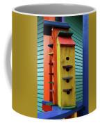 Birdhouses For Colorful Birds 6 Coffee Mug