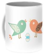 Birds And Egg Coffee Mug