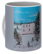 Birds Berries And November Snow Coffee Mug
