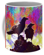 Birds Crow Black  Coffee Mug