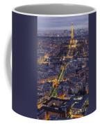 Bird's Eye On Paris 1 Coffee Mug