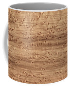 Birds-eye Pattern On Sugar Maple Wood Abstract In Nature Coffee Mug
