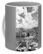 Bird's Eye View Hoboken Nj Coffee Mug