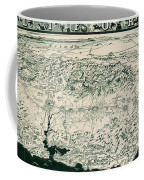 Birds-eye View Of California Coffee Mug
