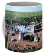 Birds Eye View Of Chappell Coffee Mug by Rural Housewife