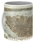 Birds Eye View Of Charleston Coffee Mug
