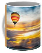Birds Eye View Of Sunset Coffee Mug