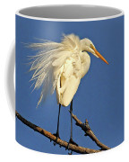 Birds - Great Egret Coffee Mug