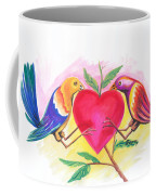 Birds In Love 01 Coffee Mug