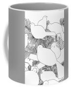 Birds In Pine Coffee Mug