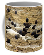 Birds In The Mud Coffee Mug