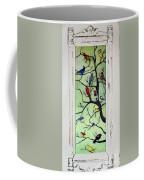 Birds In The Tree Framed Coffee Mug