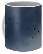 Birds In V Formation Coffee Mug