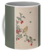 Birds Insects And Flowers Coffee Mug