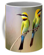 Birds On A Branch Coffee Mug