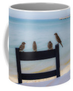 Birds On A Chair Coffee Mug