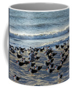 Birds On The Beach Coffee Mug