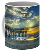 Birds On The Roof Sunrise Tybee Island Coffee Mug