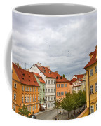Birds Over Prague Coffee Mug
