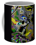 Birds That Fly In Electric Skies Coffee Mug