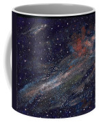 Birth Of A Galaxy Coffee Mug by Elizabeth Lane