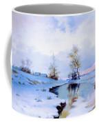 Birth Of Spring In The Snow Coffee Mug