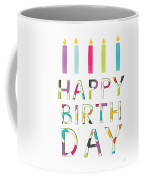 Birthday Candles- Art By Linda Woods Coffee Mug