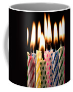 Birthday Candles Coffee Mug by Garry Gay