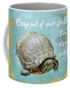 Birthday Card - Painted Turtle Coffee Mug