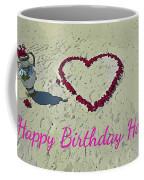 Birthday Card For Lover Coffee Mug