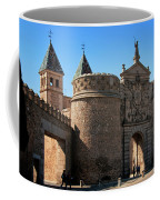 Bisagra Gate Toledo Spain Coffee Mug by Joan Carroll