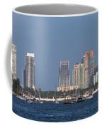 Biscayne Bay At Miami Yatch Club Coffee Mug