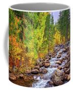 Bishop Creek In Autumn Coffee Mug
