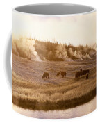 Bison Firehole River Yellowstone Coffee Mug
