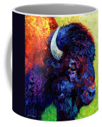 Bison Head Color Study IIi Coffee Mug