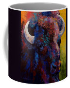 Bison Head Study Coffee Mug