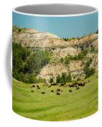 Bison Herd Coffee Mug