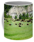 Bison Herd II Coffee Mug
