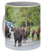 Bison Traffic Jam Coffee Mug